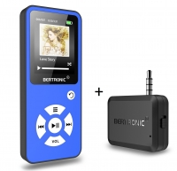 MP3 Player Royal BC01 Blau + Bluetooth Adapter