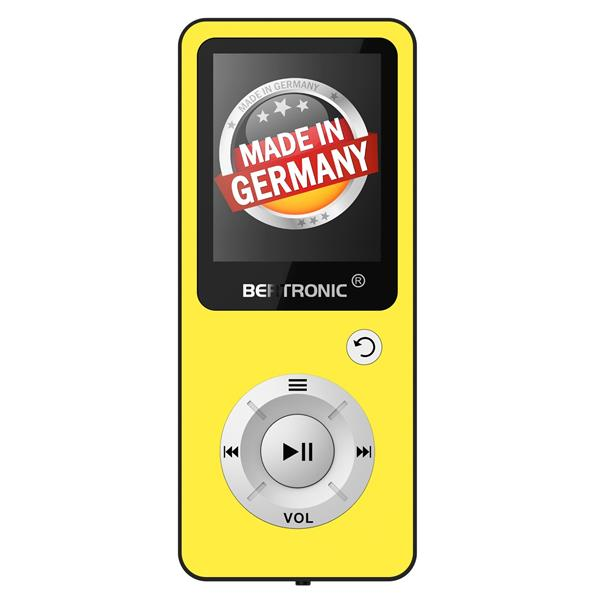 MP3 Player 16GB Royal BC04 Gelb + Silikon