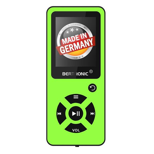 MP3 Player 8GB Royal BC03 Grün + Silikon