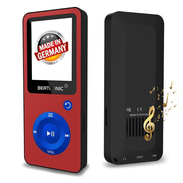 MP3 Player BC02 XMAS Rot-Blau