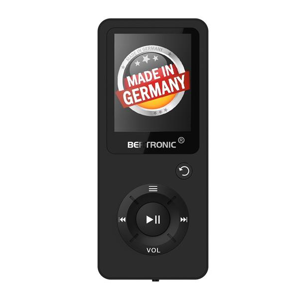 MP3 Player 16GB Royal BC02 Schwarz + Silikon