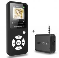 MP3 Player Royal BC01 Schwarz + Bluetooth Adapter