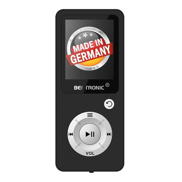 MP3 Player 16GB Royal BC04 Schwarz + Silikon