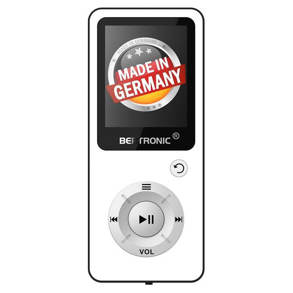 MP3 Player 8GB Royal BC04 Weiss + Silikon