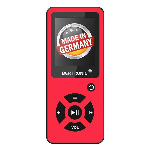 MP3 Player Royal BC03 Rot + Silikon