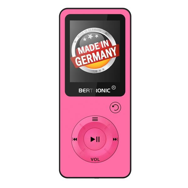 MP3 Player 8GB Royal BC09 Pink + Silikon