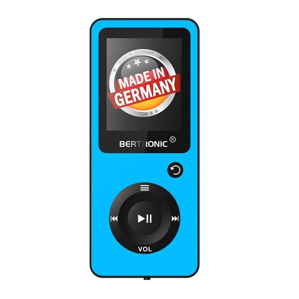 MP3 Player 16GB Royal BC02 Türkis + Silikon