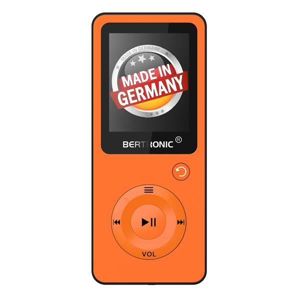MP3 Player 16GB Royal BC09 Orange + Silikon