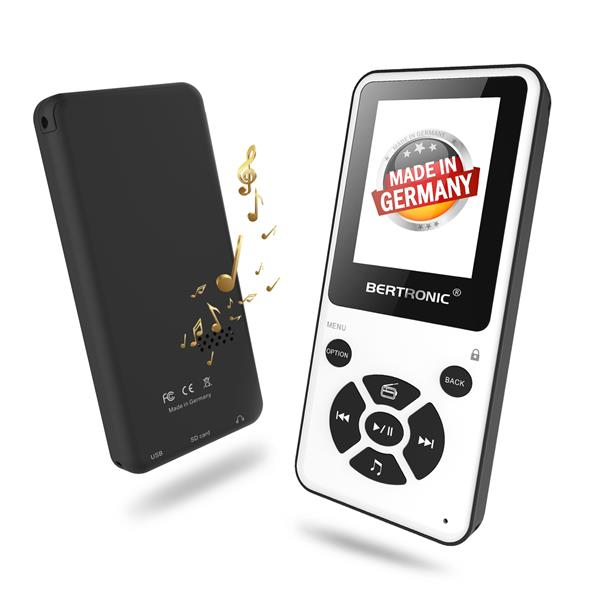 MP3 Player Thor BC910 Weiss + 8 GB