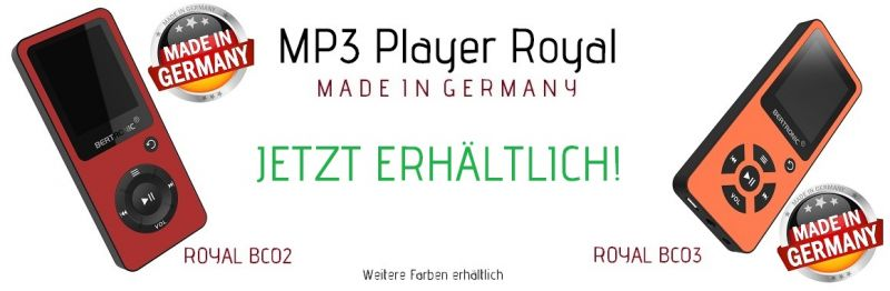 MP3 Player Royal
