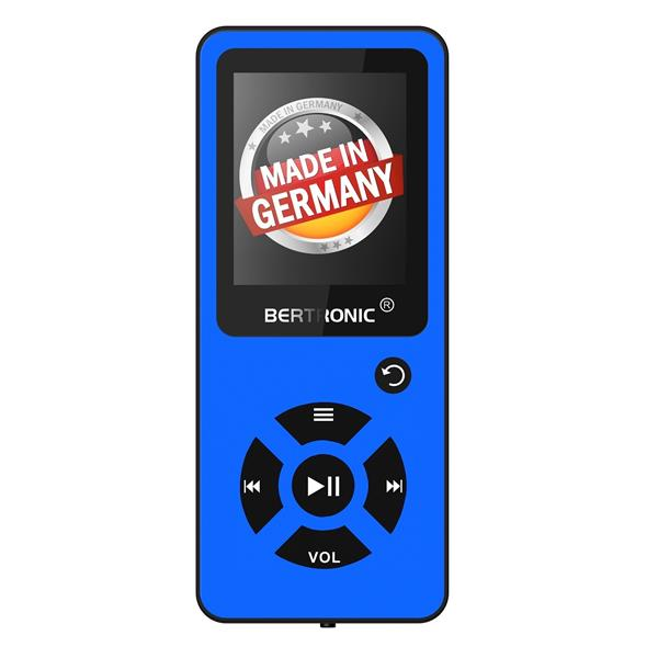 MP3 Player Royal BC03 Blau + Silikon