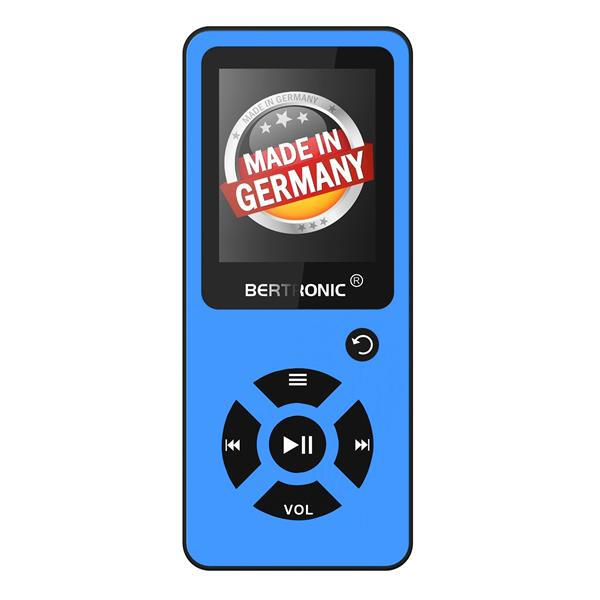 MP3 Player 8GB Royal BC03 Türkis + Silikon
