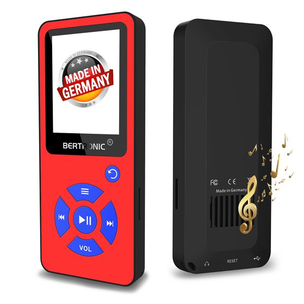 MP3 Player BC01 XMAS Rot-Blau