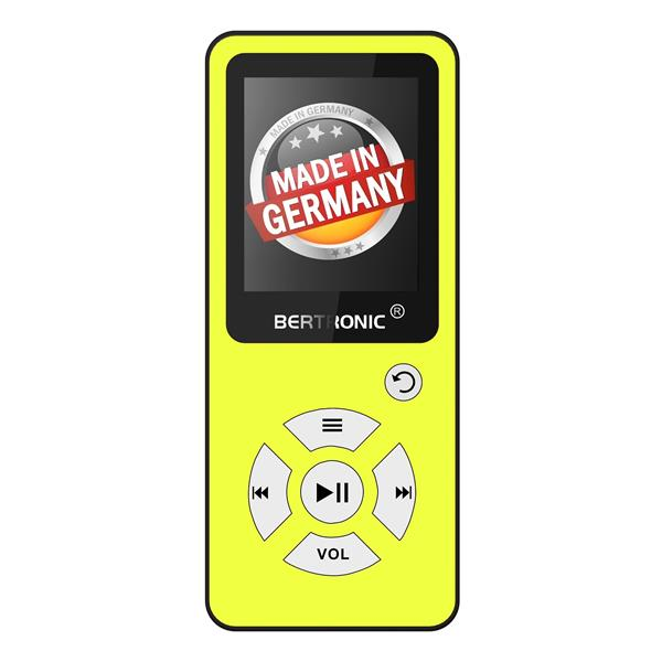 MP3 Player Royal BC01 Gelb