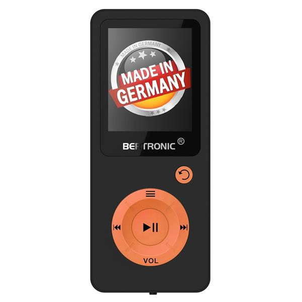 MP3 Player 16GB Royal BC08 Orange + Silikon
