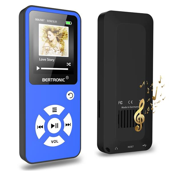 MP3 Player 8GB Royal BC01 Blau