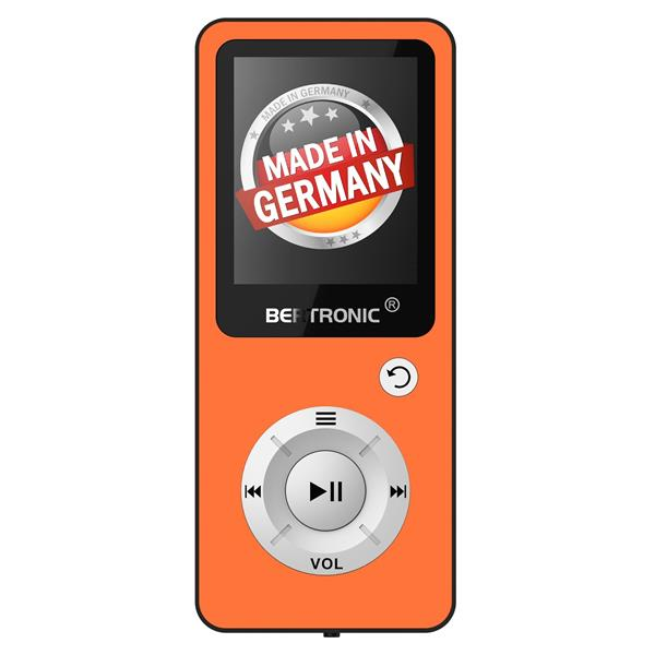 MP3 Player 16GB Royal BC04 Orange + Silikon