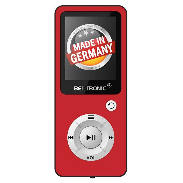 MP3 Player 8GB Royal BC04 Rot + Silikon
