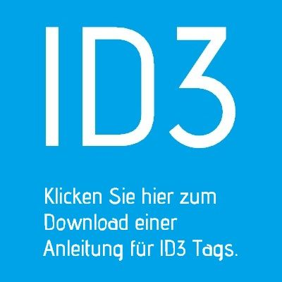 Anleitung ID3 Tags