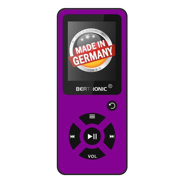 MP3 Player 8GB Royal BC03 Lila + Silikon