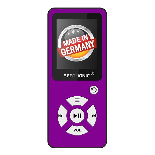 MP3 Player 8GB Royal BC01 Lila