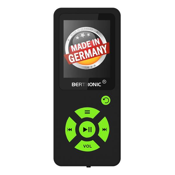 MP3 Player 8GB Royal BC07 Grün + Silikon