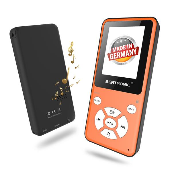 MP3 Player Thor BC910 Orange + 128 GB