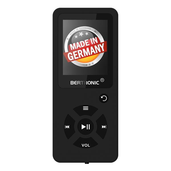 MP3 Player 8GB Royal BC03 Schwarz + Silikon