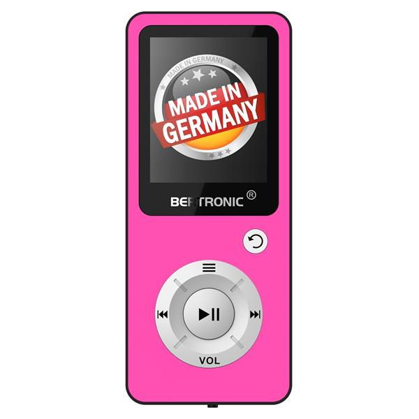 MP3 Player 8GB Royal BC04 Pink + Silikon